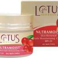 Lotus NUTRAMOIST Skin Renewal Daily Moisturising Cream SPF-25