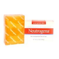 NEUTROGENA - ACNE-PRONE SKIN THE TRANSPARENT FACIAL BAR SOAP 100 G