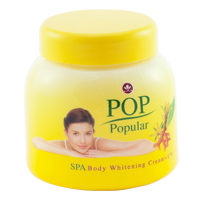 POP spa body cream + UV (Yellow)