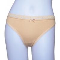 la-vie-en-rose-nude-cotton-thong