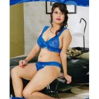 royal-blue-bikini-set